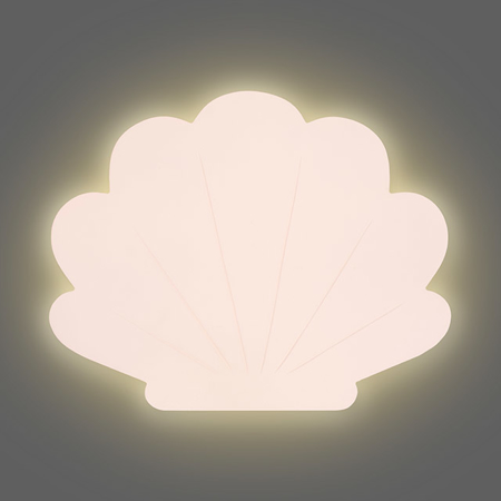 Jollein® Stenska lučka Školjka Pale Pink