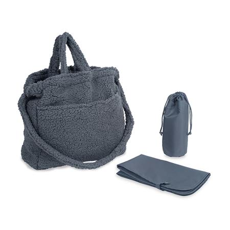 Slika Jollein® Previjalna torba Teddy Storm Grey