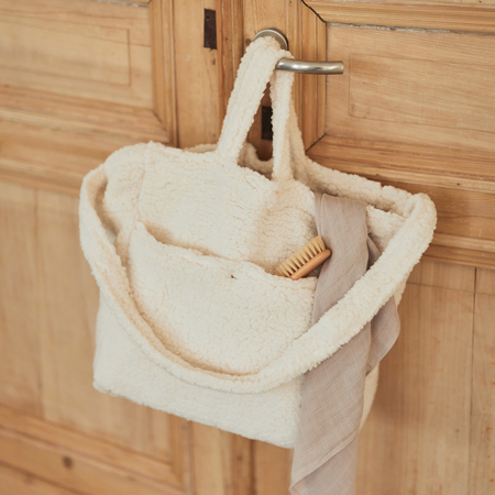 Jollein® Previjalna torba Teddy Storm Grey