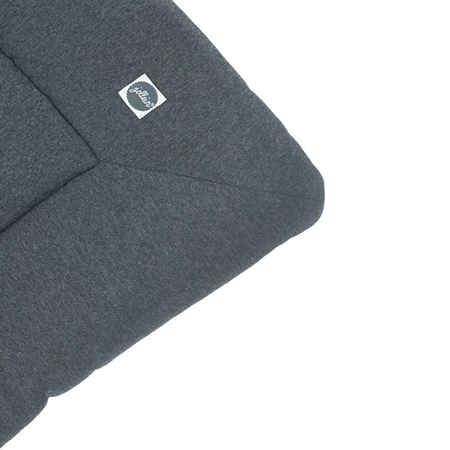 Jollein® Igralna podloga Jersey Melee 100x80 Dark Grey
