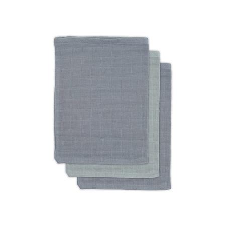 Jollein® Komplet 3 krpic za umivanje Storm Grey 20x15
