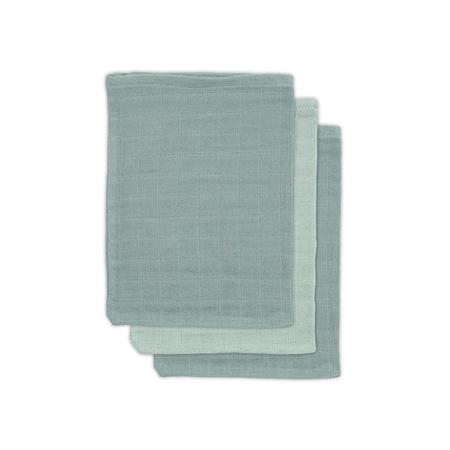 Jollein® Komplet 3 krpic za umivanje Ash Green 20x15