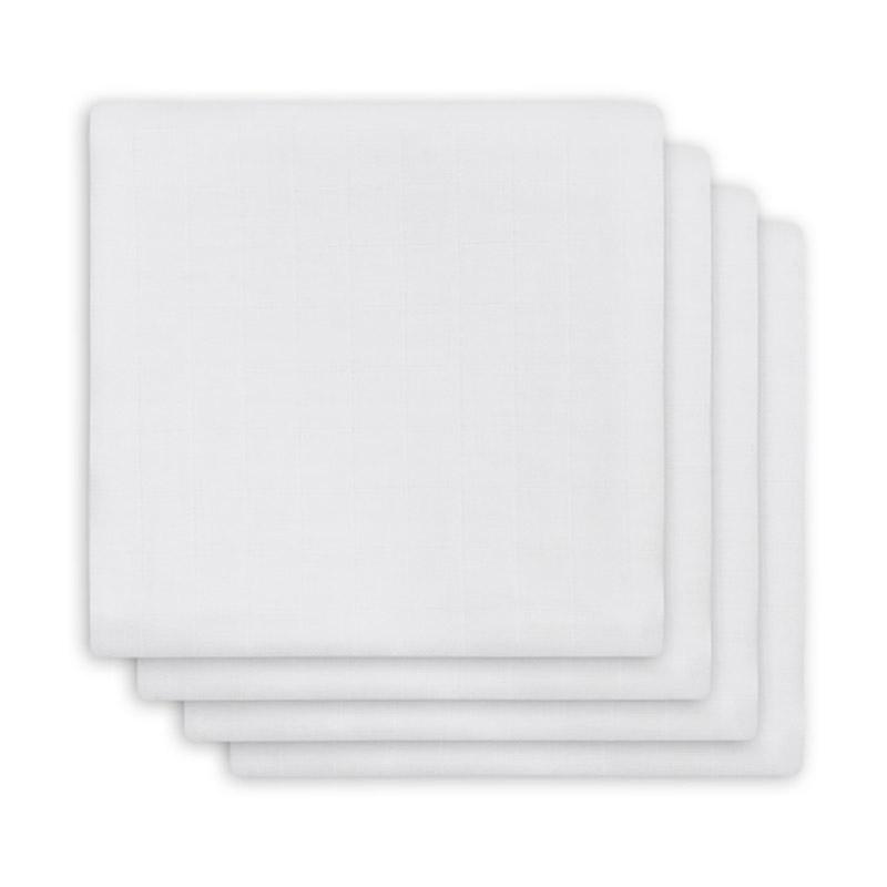 Jollein® Komplet 4 tetra pleničk White 70x70