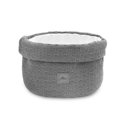 Slika Jollein® Košara za shranjevanje Bliss Knit Storm Grey