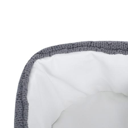 Jollein® Košara za shranjevanje Teddy Storm Grey