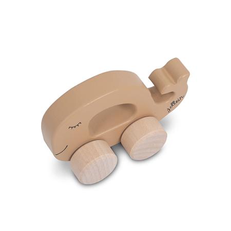 Jollein® Lesena igrača Car Whale Caramel
