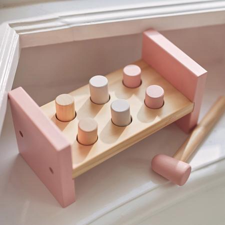 Jollein® Lesena igračka Kladivo Pink