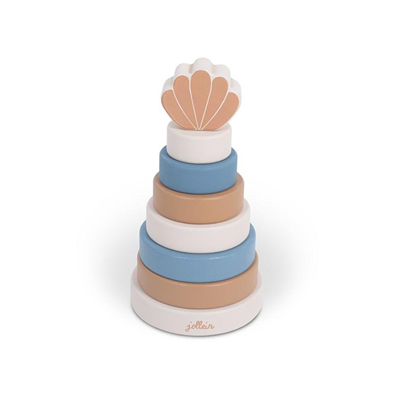 Jollein® Lesen stolp za zlaganje Shell Blue