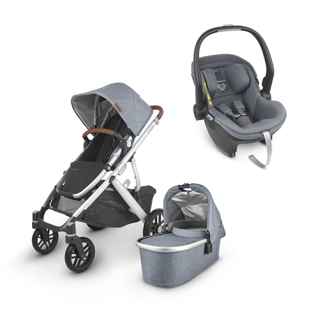 Slika UPPAbaby® Otroški voziček 3v1 Vista V2 Gregory
