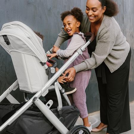 UPPAbaby® Otroški voziček 3v1 Vista V2 Greyson