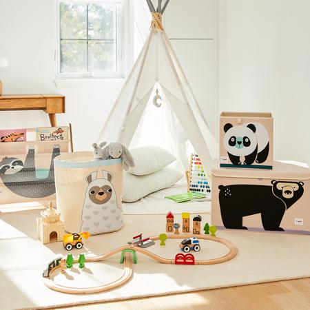 3Sprouts® Škatla za shranjevanje igrač Panda
