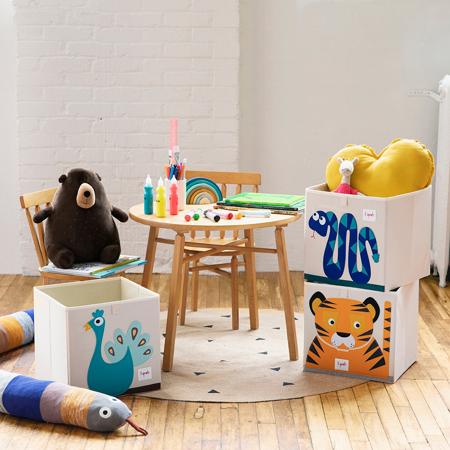3Sprouts® Škatla za shranjevanje igrač Tiger