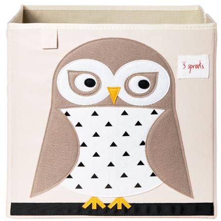 Slika 3Sprouts® Škatla za shranjevanje igrač Sovica