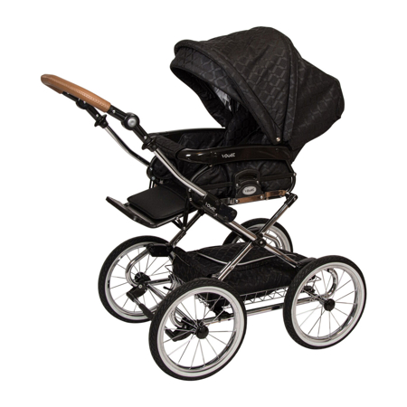 Quax® Otroški voziček s košaro 2v1 Vogue Milano