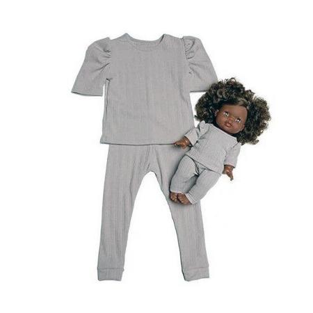 Slika Minikane® Komplet oblačil Duo Collection MYA Gris