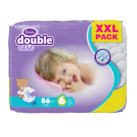Violeta® Plenice Air Dry XXL 6 Junior+ (16 kg+) 86/1