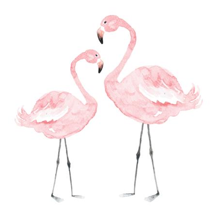 Slika Dekornik® Stenska nalepka Flamingos - M