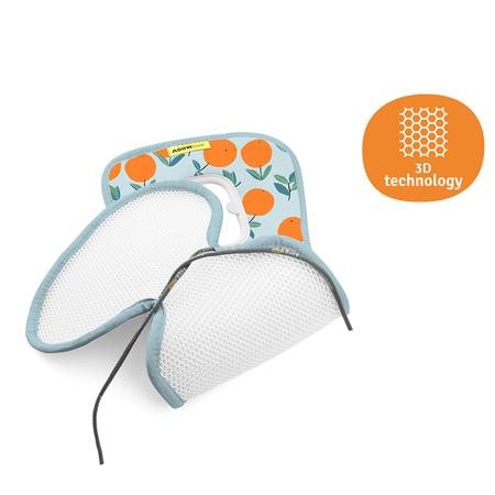 AeroMoov® Zračna podloga za voziček Skupina B (0-18 kg) Oranges