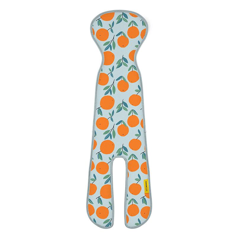 AeroMoov® Zračna podloga za avtosedežs podaljškom Skupina 2/3 (15-36 kg) Oranges