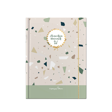 Slika Z ljubeznijo, Mama® Nosečkin dnevnik Terazzo