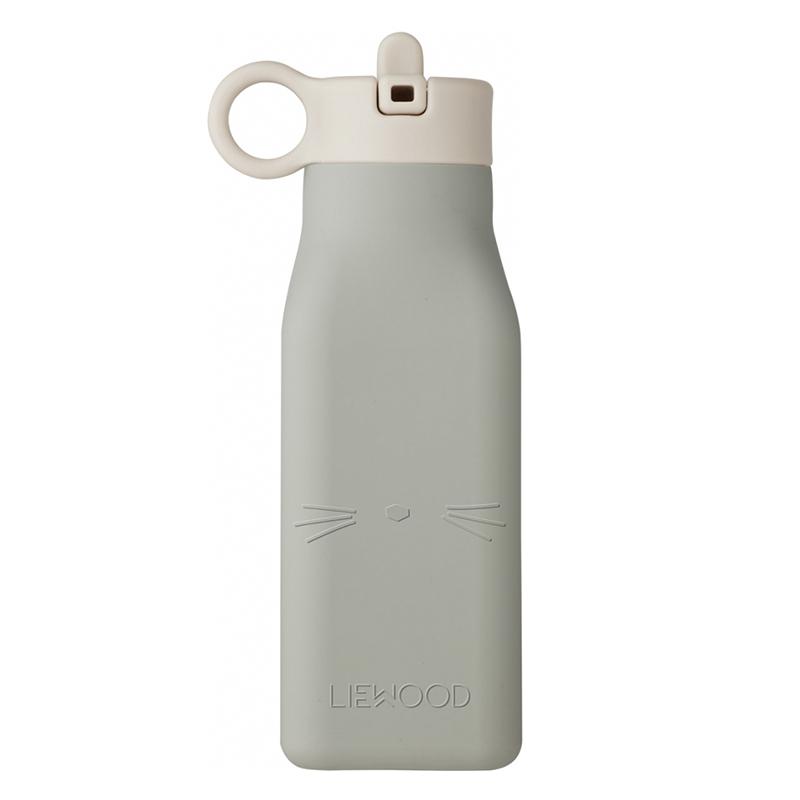 Liewood® Steklenička Warren Cat Dove Blue 350ml