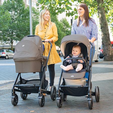 Joie® Otroški voziček + košara Chrome™ DLX Pavement