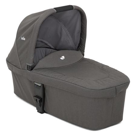 Joie® Otroški voziček + košara Chrome™ DLX Foggy Grey