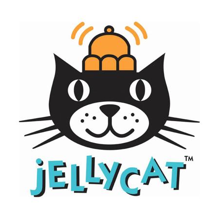 Jellycat® Glasbena obešanka Bashful Pink Bunny 28cm