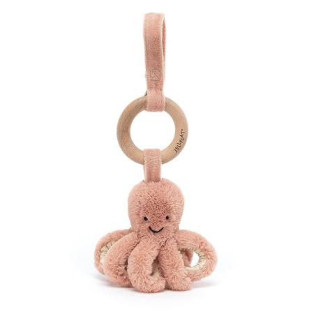 Jellycat® Aktivnostna plišasta igračka Odell Octopus 21x5