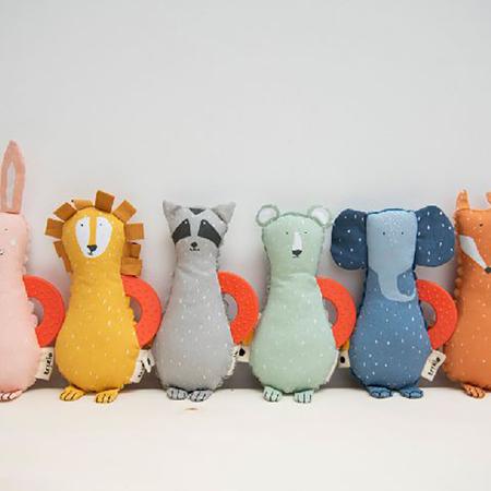 Trixie Baby® Mini aktivnostna igračka Mr. Raccoon