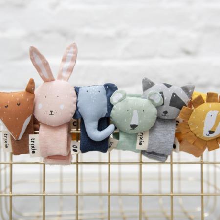 Trixie Baby® Zapestna ropotuljica Mrs. Rabbit
