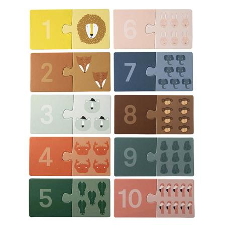 Slika Trixie Baby® Sestavljanka s števili