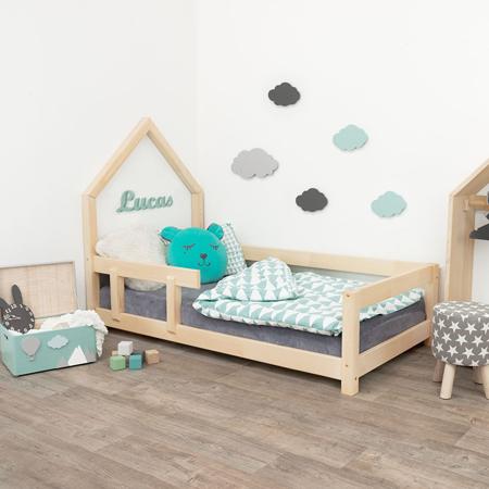 Slika Benlemi® Otroška postelja Poppi 200x90 Natural