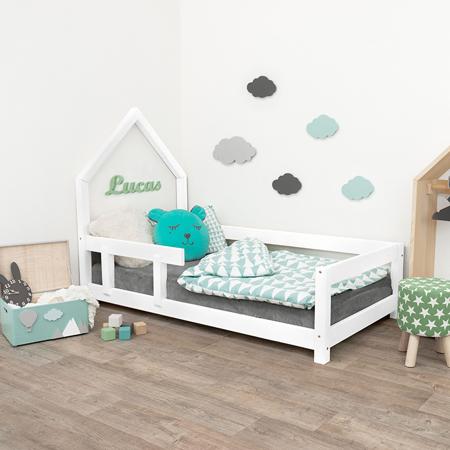 Slika Benlemi® Otroška postelja Poppi 200x90 White