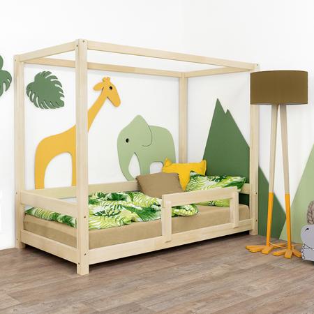 Slika Benlemi® Otroška postelja Bunky 200x90 Natural