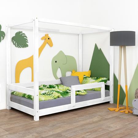Slika Benlemi® Otroška postelja Bunky 200x90 White