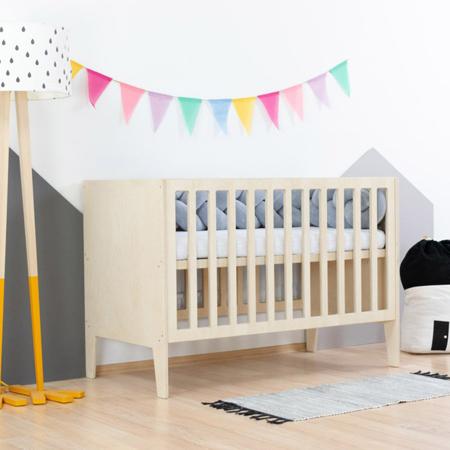 Slika Benlemi® Otroška posteljica Sleepy 120x60 Natural