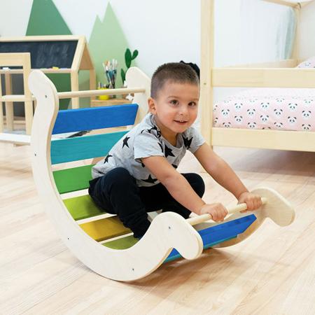 Benlemi® Otroški gugalnik za ravnotežje Montessori Yupee