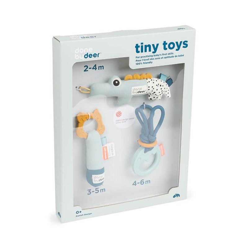 Done by Deer® Darilni set aktivnostnih igračk Blue