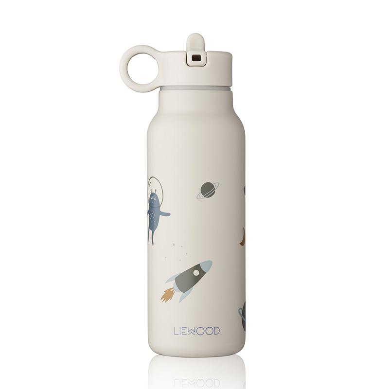 Liewood® Steklenička iz nerjavečega jekla Falk Space Sandy Mix 350ml