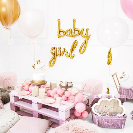 Party Deco® Balon Girl Gold