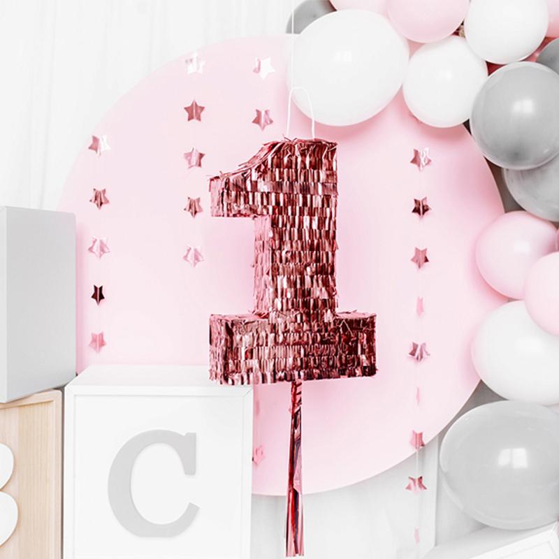 Party Deco® Pinjata v obliki številke 1
