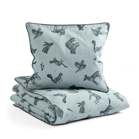 Sebra® Otroška posteljnina Nightfall Hazy Blue 70x100