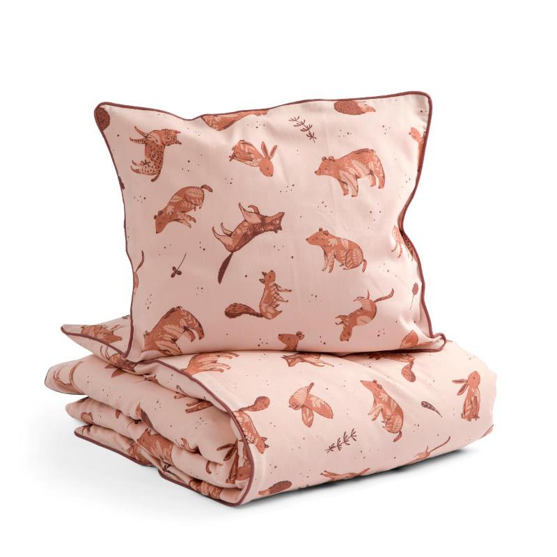 Sebra® Otroška posteljnina Nightfall Dreamy Rose 70x100