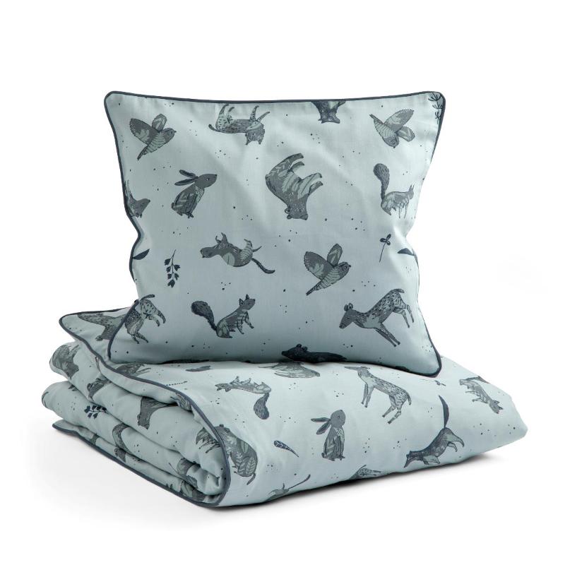 Sebra® Otroška posteljnina Nightfall Hazy Blue 100x140