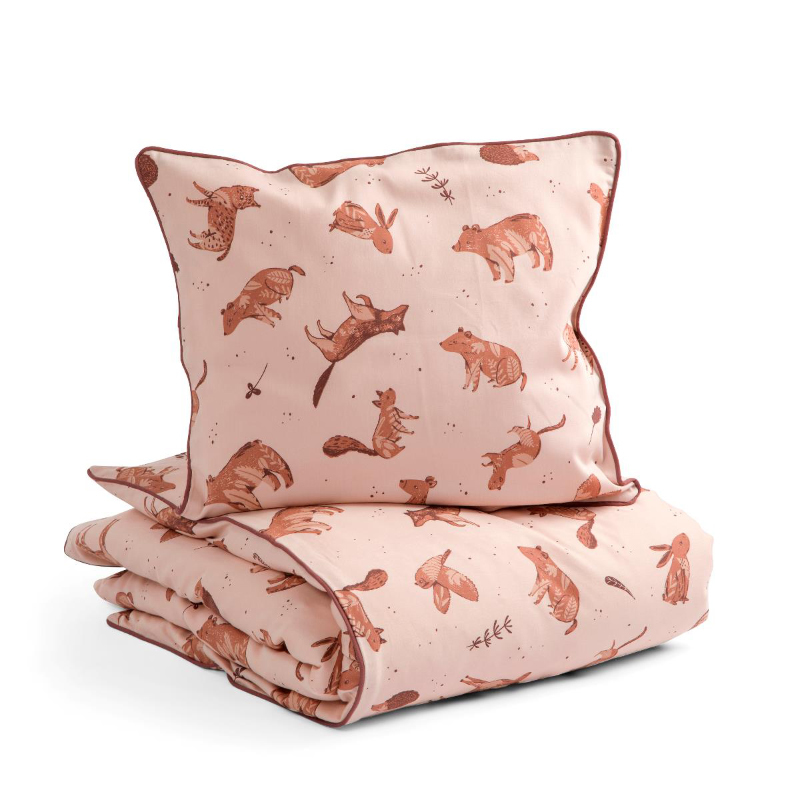 Sebra® Otroška posteljnina Nightfall Dreamy Rose 100x140