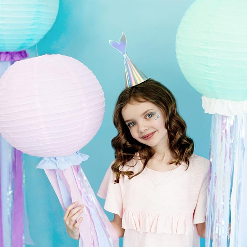 Party Deco® Party klobučki Morska deklica 6 kos