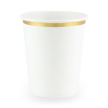 Party Deco® Kozarčki White 260ml
