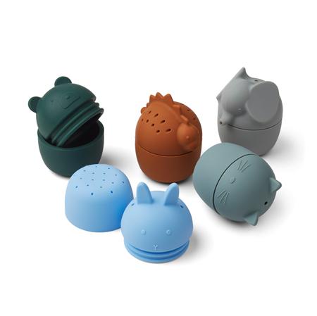 Slika Liewood® Kopalniške igračke Gaby 5 kosov Blue Multi mix