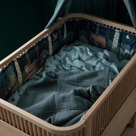 Sebra® Obroba za posteljico Nightfall Straw Beige